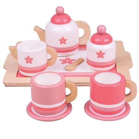 Picture of Pink Tea Tray