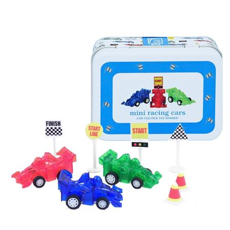 Picture of Mini Racing Cars in a Tin
