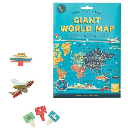 Picture of Create Your Own Giant World Map