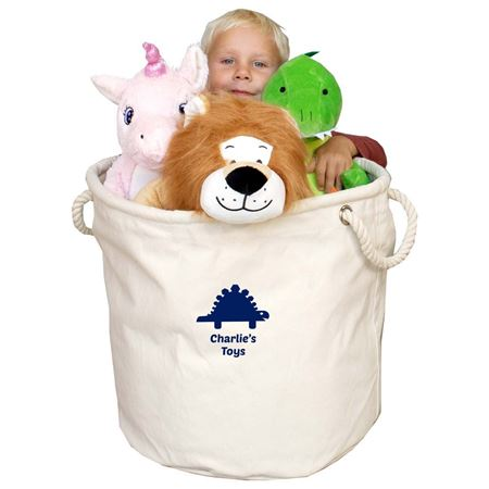 Picture of Personalised Canvas Toy Storage Bag