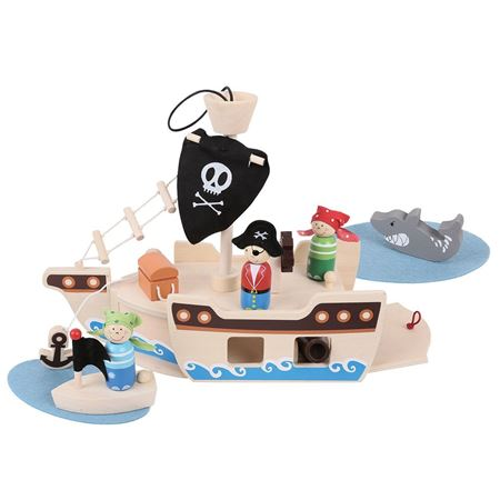 Picture of Mini Pirate Ship Playset