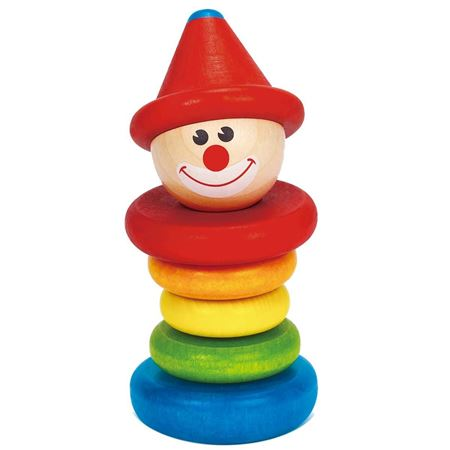 Picture of Happy Clown Rattle