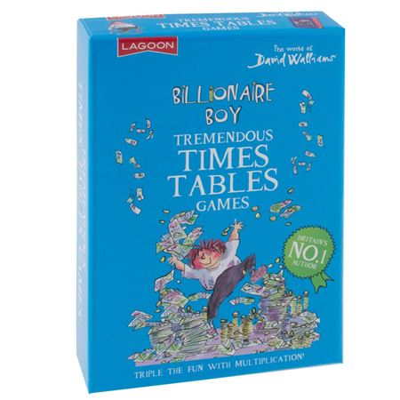 Picture of Billionaire Boy's Tremendous Times Tables
