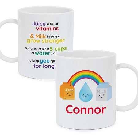 Picture of Personalised Healthy Eating Plastic Mug