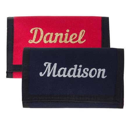 Picture of Personalised Wallet - Glitter Name