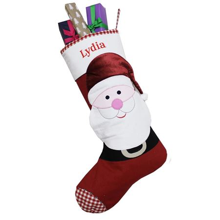 Picture of 3D Santa Personalised Stocking