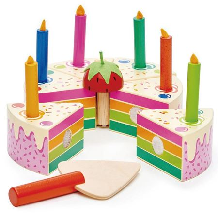 Picture of Rainbow Birthday Cake