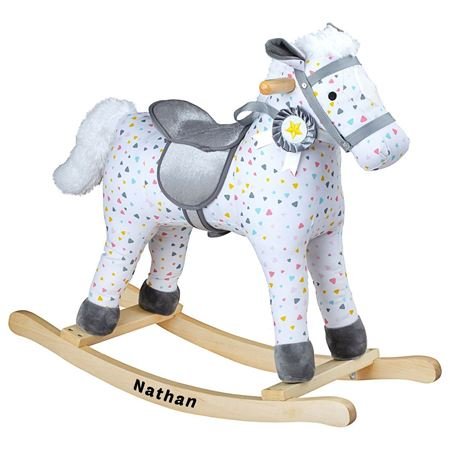 Picture of Patterned Rocking Horse