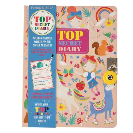 Picture of Top Secret Rainbow Fairy Diary