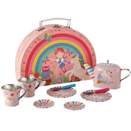 Picture of Rainbow Fairy Tin Tea Set