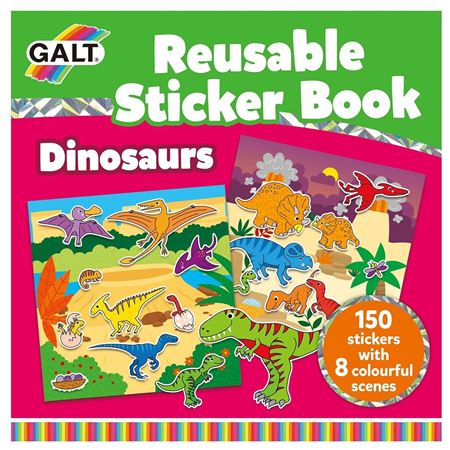 Picture of Reusable Sticker Book - Dinosaurs