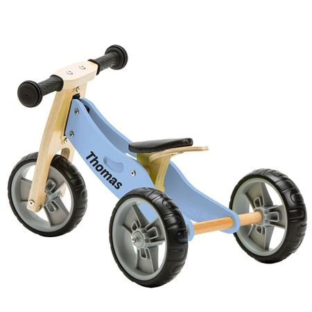 Picture of 2 in 1 Bike - Pastel Blue (Tricycle/Balance Bike)