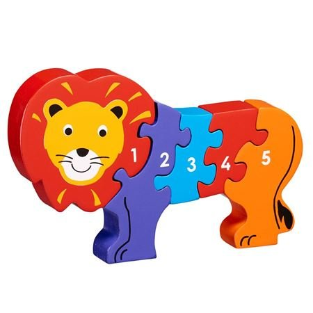 Picture of Lion 1-5 jigsaw