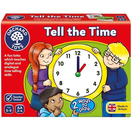 Picture of Tell The Time Lotto