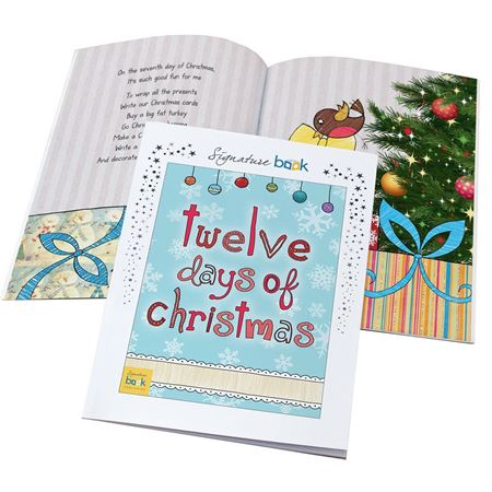 Picture of Twelve Days of Christmas - Personalised Book